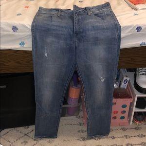 Lucky brand skinny jeans - medium wash